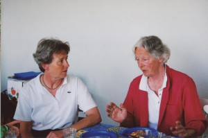 Eva Baumgartner und Lilo Benedetti (v.l.n.r.)